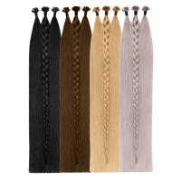 Natural Color Bonding Extensions | SILVER SERIES - VOLUMISTA | 100% Echthaare
