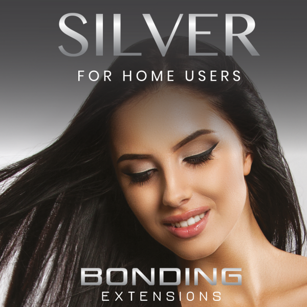 Silver Series - 1g Bonding Extensions - 20 Strähnen - 100% Echthaare - 45-55 cm