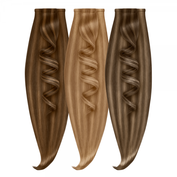 Two-Tone Tape Extensions | SILVER SERIES - VOLUMISTA | 100% Echthaare