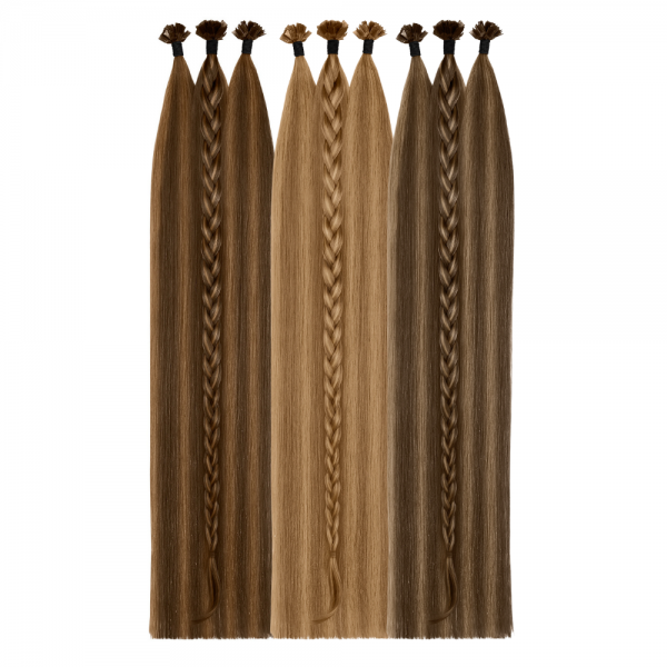 Two-Tone Bonding Extensions   SILVER SERIES - VOLUMISTA   100% Echthaare