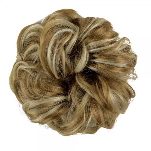 Dutt Haarteil Haargummi Haarverlängerung