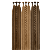 Two-Tone Bonding Extensions | SILVER SERIES - VOLUMISTA | 100% Echthaare